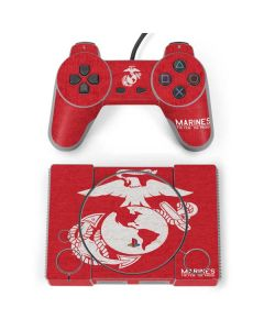 Light Red Eagle PlayStation Classic Bundle Skin