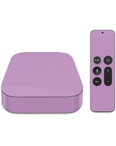 Lilac Apple TV Skin