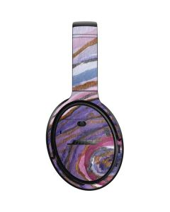 Lilac Watercolor Geode Bose QuietComfort 35 II Headphones Skin