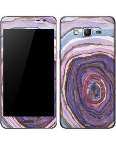 Lilac Watercolor Geode Galaxy Grand Prime Skin