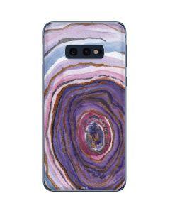Lilac Watercolor Geode Galaxy S10e Skin