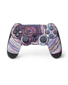 Lilac Watercolor Geode PS4 Pro/Slim Controller Skin