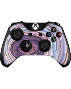 Lilac Watercolor Geode Xbox One Controller Skin