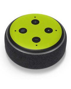 Lime Amazon Echo Dot Skin