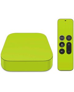 Lime Apple TV Skin