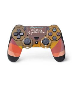 Limitations Only Exist If You Let Them PS4 Pro/Slim Controller Skin