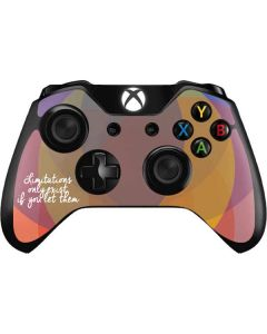 Limitations Only Exist If You Let Them Xbox One Controller Skin