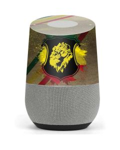 Lion of Judah Shield Google Home Skin