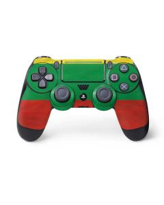 Lithuania Flag Distressed PS4 Pro/Slim Controller Skin
