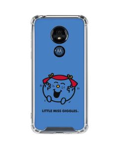 Little Miss Giggles Moto G7 Power Clear Case
