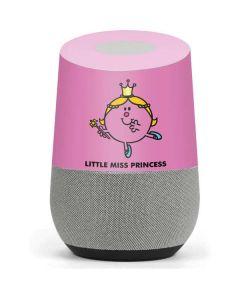 Little Miss Princess Google Home Skin