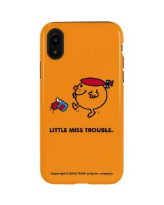 Little Miss Trouble iPhone XR Pro Case