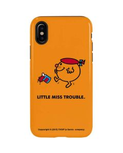 Little Miss Trouble iPhone XS Pro Case