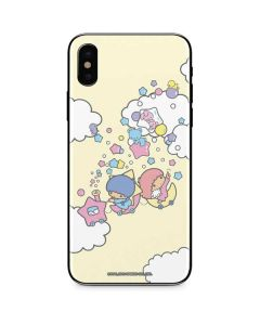 Little Twin Stars Floating iPhone XS Skin