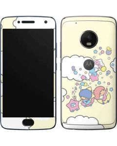 Little Twin Stars Floating Moto G5 Plus Skin