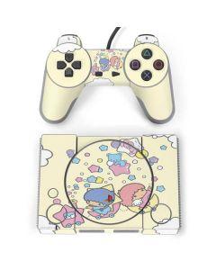 Little Twin Stars Floating PlayStation Classic Bundle Skin