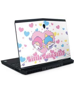 Little Twin Stars Hearts Dell Alienware Skin