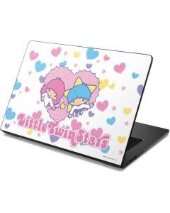 Little Twin Stars Hearts Dell Chromebook Skin