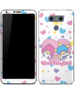 Little Twin Stars Hearts LG G6 Skin
