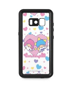 Little Twin Stars Hearts Galaxy S8 Waterproof Case