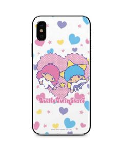 Little Twin Stars Hearts iPhone XS Skin