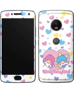 Little Twin Stars Hearts Moto G5 Plus Skin