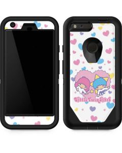 Little Twin Stars Hearts Otterbox Defender Pixel Skin
