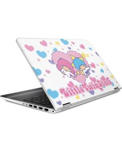 Little Twin Stars Hearts HP Pavilion Skin