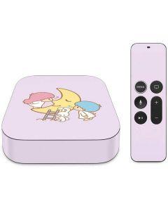 Little Twin Stars Moon Apple TV Skin