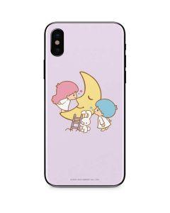 Little Twin Stars Moon iPhone XS Skin