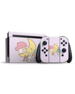 Little Twin Stars Moon Nintendo Switch Bundle Skin