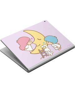 Little Twin Stars Moon Surface Book Skin