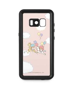 Little Twin Stars Riding Galaxy S8 Waterproof Case