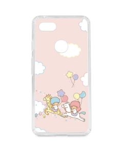 Little Twin Stars Riding Google Pixel 3 XL Clear Case