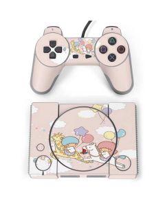 Little Twin Stars Riding PlayStation Classic Bundle Skin