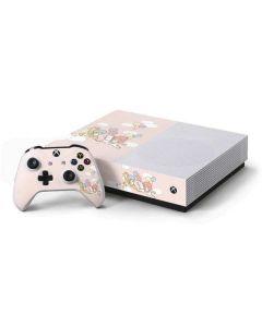Little Twin Stars Riding Xbox One S All-Digital Edition Bundle Skin