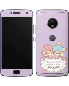 Little Twin Stars Shine Moto G5 Plus Skin