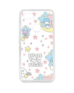 Little Twin Stars Shooting Star Google Pixel 3 XL Clear Case