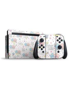 Little Twin Stars Shooting Star Nintendo Switch Bundle Skin