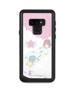 Little Twin Stars Wish Upon A Star Galaxy Note 9 Waterproof Case