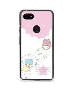 Little Twin Stars Wish Upon A Star Google Pixel 3a XL Clear Case