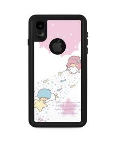Little Twin Stars Wish Upon A Star iPhone XR Waterproof Case
