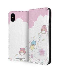 Little Twin Stars Wish Upon A Star iPhone XS Folio Case