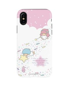 Little Twin Stars Wish Upon A Star iPhone XS Max Pro Case
