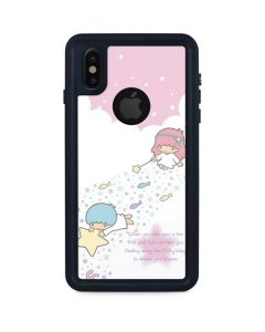 Little Twin Stars Wish Upon A Star iPhone XS Waterproof Case