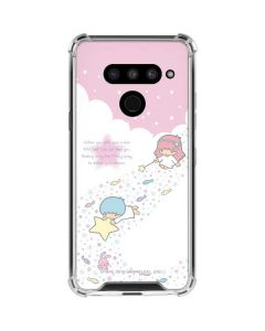 Little Twin Stars Wish Upon A Star LG V50 ThinQ Clear Case
