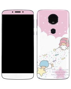 Little Twin Stars Wish Upon A Star Moto E5 Plus Skin