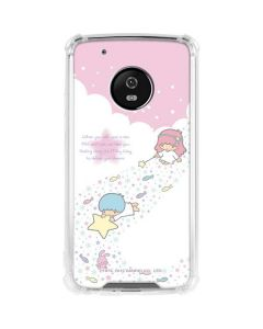 Little Twin Stars Wish Upon A Star Moto G5 Plus Clear Case