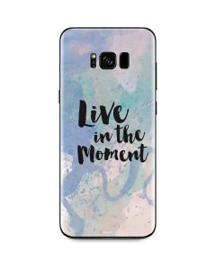 Live In The Moment Pastel Galaxy S8 Skin