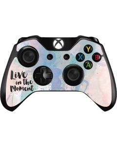 Live In The Moment Pastel Xbox One Controller Skin